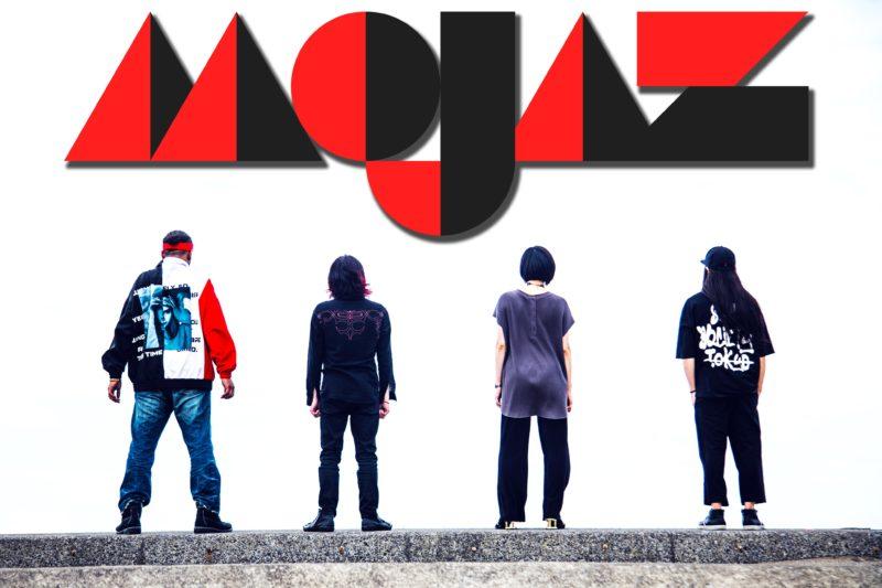 MOJAZ、1st Album 『mojam』より先行配信が7月8日20時よりスタート!!